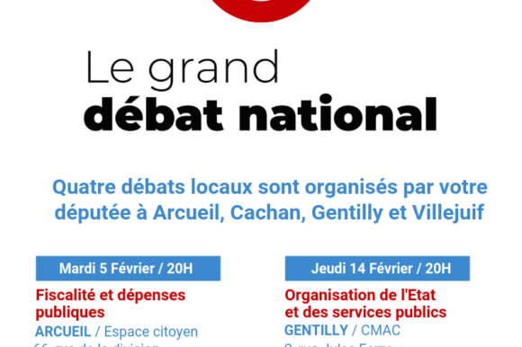 Grand débat national : quelques informations